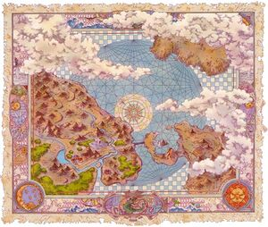 Breath of Fire 3 Map