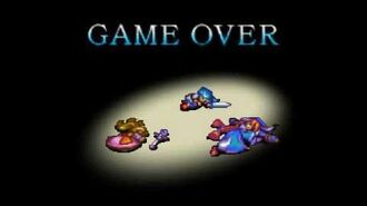 Game Over Breath of Fire 3