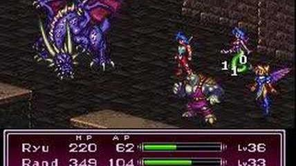 Breath of Fire II - Boss 37 Ray