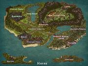 Havre map