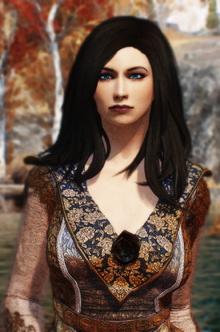 Iris portrait
