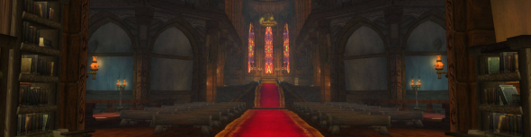 Light's Dawn Cathedral Interior