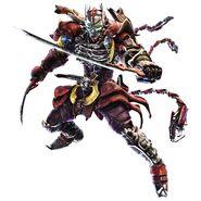 Yoshimitsu Tekken 6 CG Art