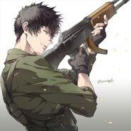Shinya Kogami- Mercenary