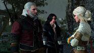 Geralt, Ciri and Yennefer