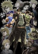 JoJo anime Parts 1-3