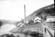 Boisse-Penchot Usine Hydraulique sur le Lot