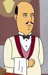 Moustache Elefante Waiter Template