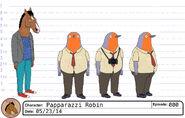 Paparazzi Robin model sheet