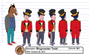 Ringmaster Todd model sheet