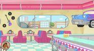 Suzy's Diner inside