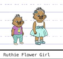Ruthie model sheet