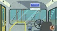 S3E04 Bus interior drivers seat