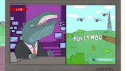 Hollywoo news tv bojack