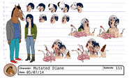 S1E11 Mutated Diane Model Sheet 2