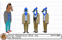 Blue jay model