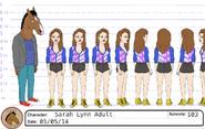 Sarah Lynn model sheet