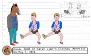 Todd in Sarah Lynn's clothing model sheet