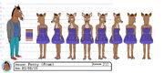Penny prom model sheet