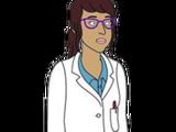 Lab Coat Woman