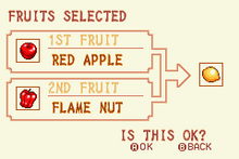 (1) Red Apple + Flame Nut = Speed Nut
