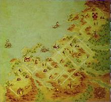 Map of Istrakan