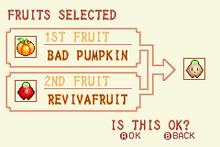 (12) Bad Pumpkin + Revivafruit = Life Fruit