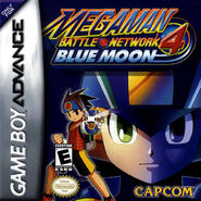 MegaMan Battle Network 4 Blue Moon Coverart