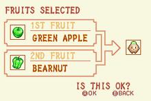 Green Apple + Bearnut = Heal Fruit