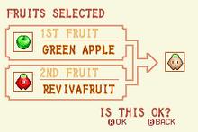 Green Apple + Revivafruit = Heal Fruit