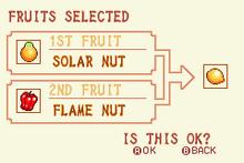 (4) Solar Nut + Flame Nut = Speed Nut