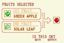 Green Apple + Solar Leaf = Red Apple