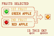 Green Apple + Red Apple = Gold Apple