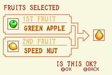 (1) Green Apple + Speed Nut = Solar Nut