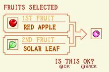 (1) Red Apple + Solar Leaf = See-All Nut