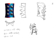 Blue Spine Concept Art Boktai DS