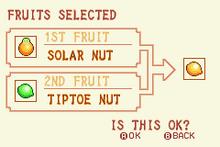 (3) Solar Nut + Tiptoe Nut = Speed Nut