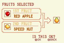 (2) Red Apple + Speed Nut = Solar Nut