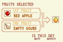 (3) Red Apple + Empty Gourd = Solar Nut