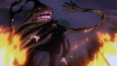 Sludge villain attacks Midoriya