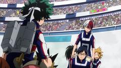 Team Todoroki vs Team Midoriya