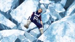 Shoto beaten by Katsuki