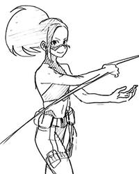 Prototipo Momo Costume
