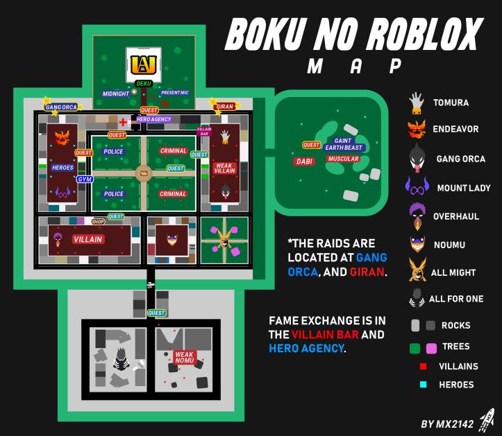 Locations Boku No Roblox Remastered Wiki Fandom