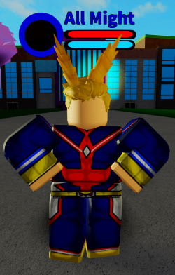 All Might | Boku No Roblox:Remastered Wiki | FANDOM ...