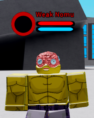 Weak Nomu Boku No Roblox Remastered Wiki Fandom
