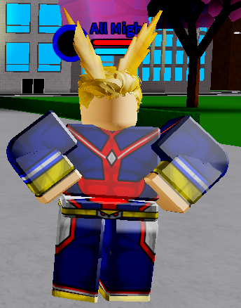 All Might | Boku No Roblox:Remastered Wiki | FANDOM powered by Wikia