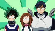 Izuku, Ochaco and Tenya chosen as victims