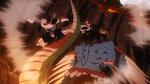 Tenya protects Shoto from Chimera