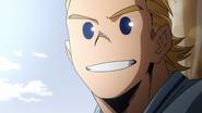 Mirio tells Izuku to smile